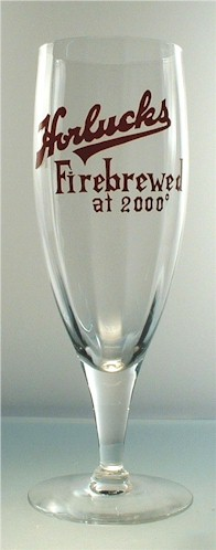 Horluck's Fire Brewed beer glass - image