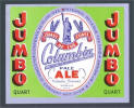 Jumbo Columbia Pale Ale, silver label - image