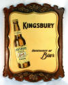 Kingsbury Beer sign '40s