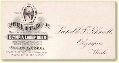 Leopold F. Schmidt's business card - image