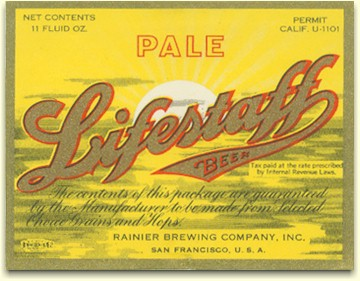 Pale Lifestaff Beer, c.1934 - image
