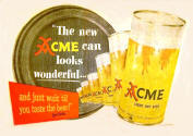 May 1950 new Acme beer can