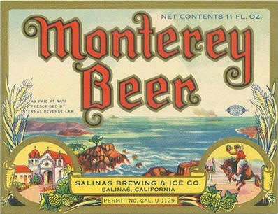 First Monterey Beer label - image