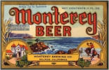 Monterey Beer label Withdrawn Tax Free