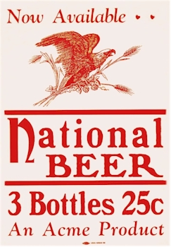 National Beer poster - image