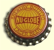 Nu-Globe Lager bottle cap