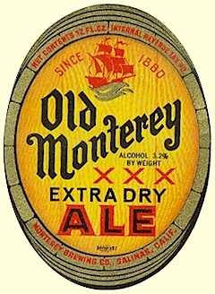 Old Monterey Ale label - image