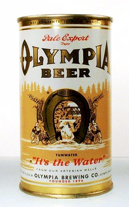 dating olympia beer cans