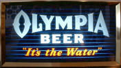 Olympia Beer lighted sign - image
