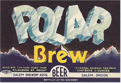 Polar Brew Beer label from Salem