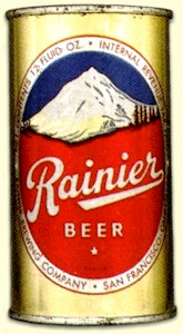 Rainier Beer can, c.1949 - image