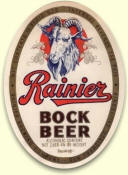 Rainier Bock label ca.1941