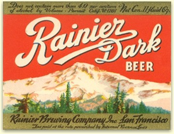 first Rainier Dark Beer, Sep. '33 - image