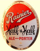 Rainier Half & Half label, ca.1940