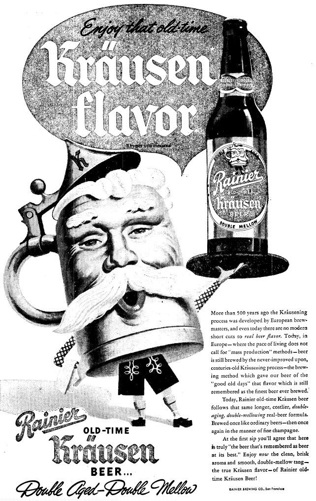 history of rainier beer