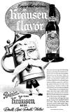 Rainier Old Time Krausen Beer ad, c.1951 - image