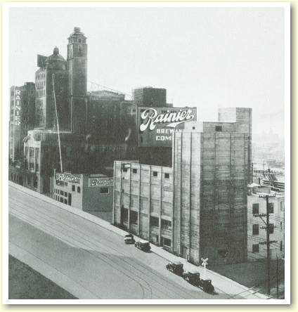 Rainier Brewery of San Francisco c.1933 - photo