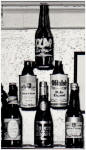 Salem Brewery beer display c.1942 - image