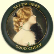 Salem Beer tip tray -  image