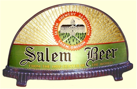 Salem Beer sign by Gillco - image
