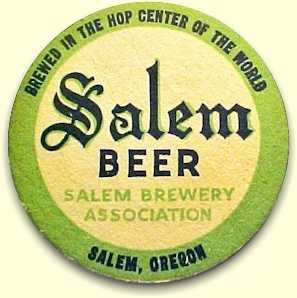 Salem Beer coaster - image