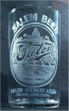 Salem Beer etched glass, c. 1907 -  image