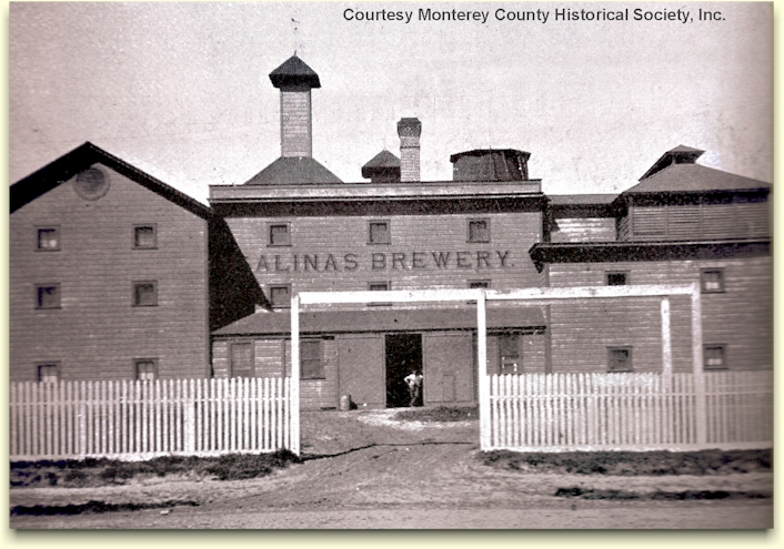 Salinas Brewery c.1895 - photo