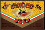 Rodeo Beer label - Salinas