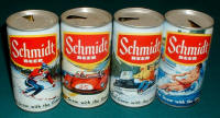 Additions to the outdoor beer can set from Schmidt
