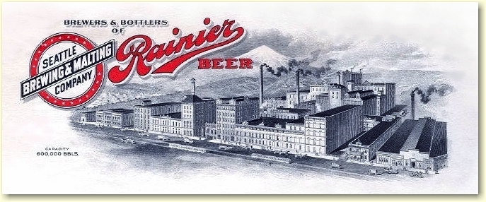 Seattle Brewing & Malting letterhead 1913 - image