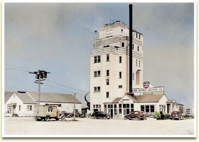 Photo of Silver Springs Brewery ca.1940