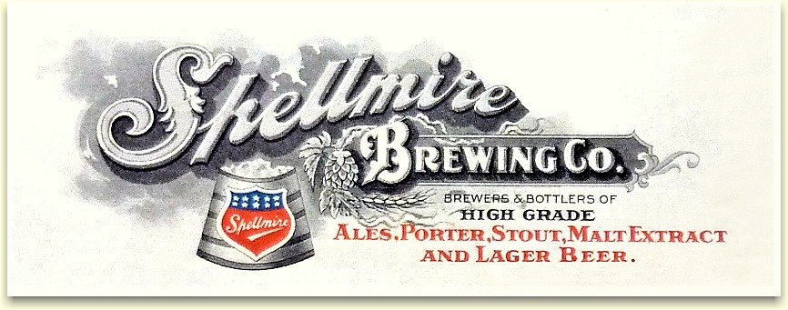 Spellmire Brewing Co. letterhead