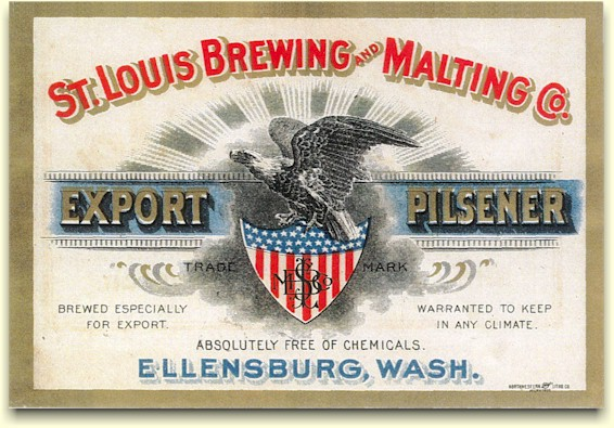 St.Louis B&MCo Export Pilsener label