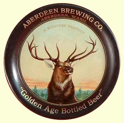 Golden Age tip tray from Aberdeen Brg. Co. - photo