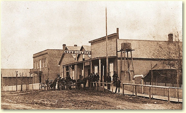 Stahl's City Brewery, c.1872 - image