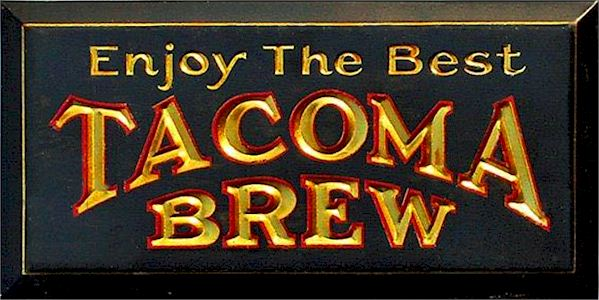 Tacoma Brew TOC sign
