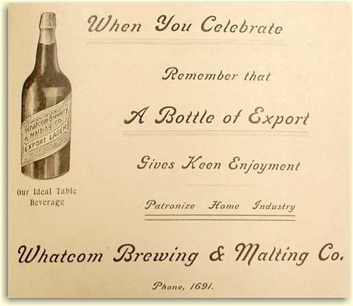 Whatcom Bry & Mltg ad 1902 - graphic