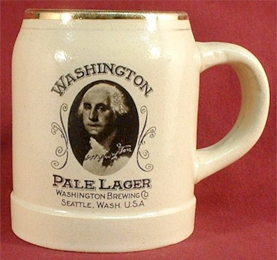 Washington Pale Lager beer stein - image