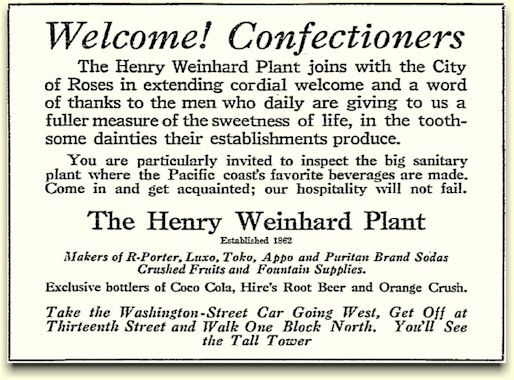 ad from the June 9, 1919 Oregonian