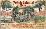 Weinhard label for Ye Olde Colonial Beer