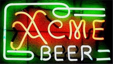 Acme neon light
