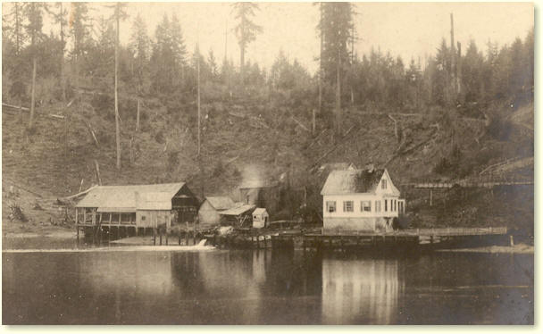site of Olympia Brewery, c.1895 - image
