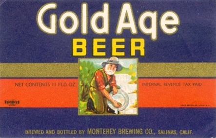 Gold Age Beer label - image