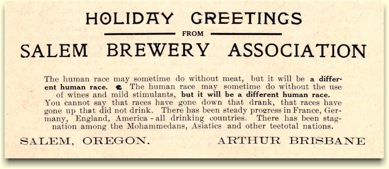 Anti-Prohibition Holiday Greeting