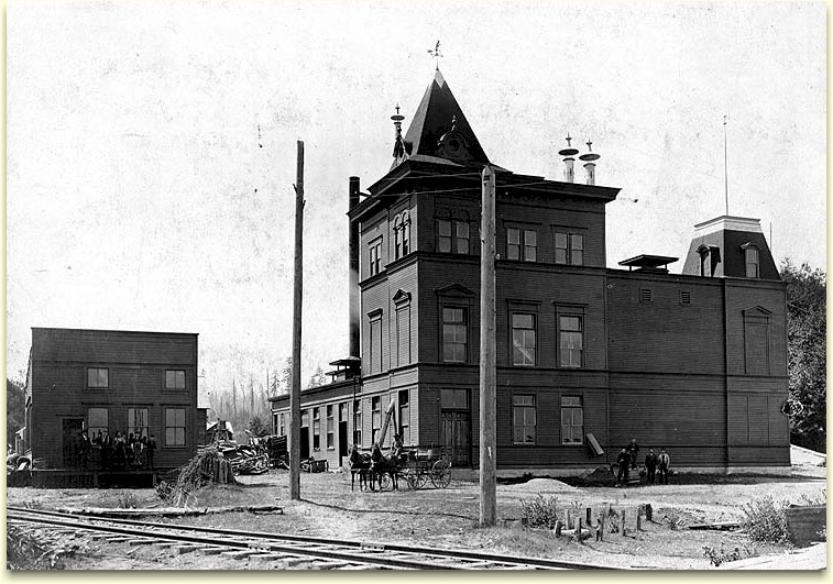 Photo of Angeles Brewery, ca.1903