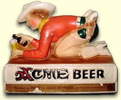 Acme back-bar chalk by Petty - image
