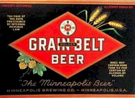 Grain Belt label c. 1936 - image