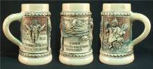 1903 Rainier beer stein by Diesinger