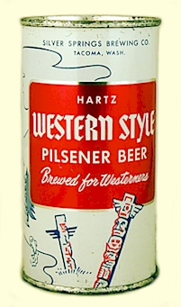 Hartz Wester style beer can - image
